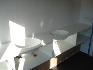badkamer meubel spoelbak corian peter hamers meubel interieur